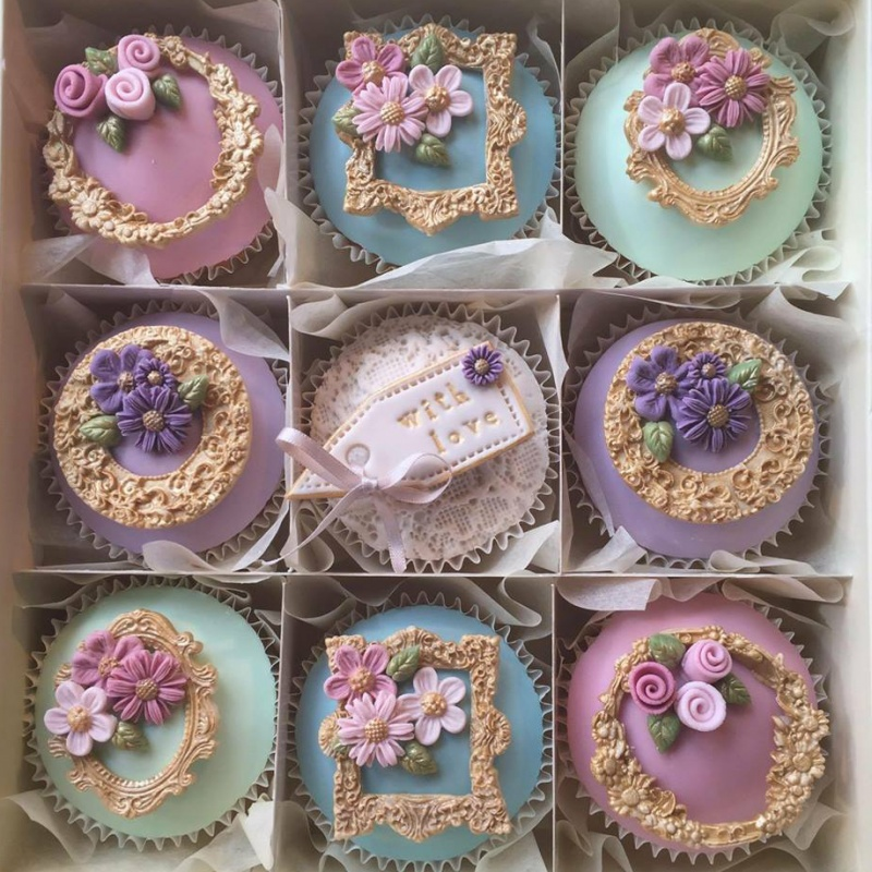 Wedding Cup Cake Gallery